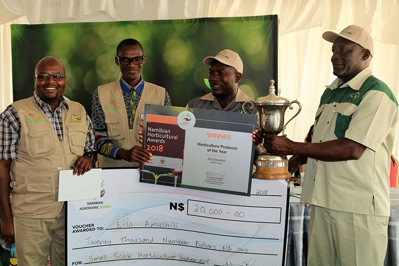 The Winner in the small-scale category is from Olushandja (Epalela) area which undoubtedly befits the theme, and hence the decision by the NAB to host the event in the region.