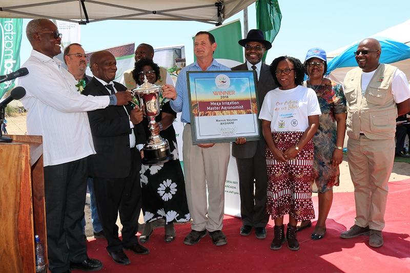 Marnus Strydom, Manager of the Mashare Irrigation Project in the Kavango-East region