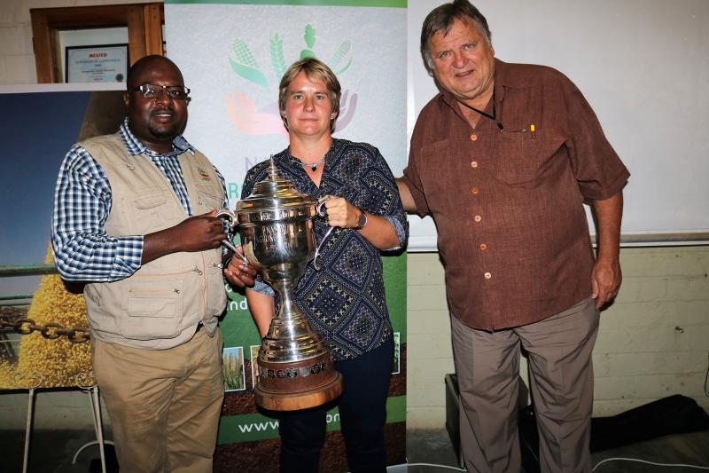 Elize van Niekerk, crowned 2018 Master Agronomist.