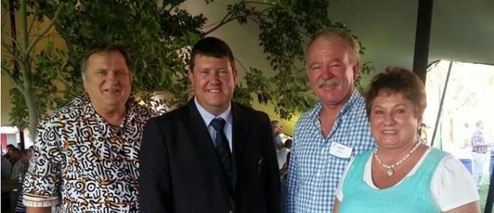 A Namibian delegation comprising Mr Christof Brock, CEO of the Namibian Agronomic Board, Mrs Antoinette Venter, Administrative Manager and White Maize and Wheat Manager at the Namibian Agronomic Board and Mr André Compion,.