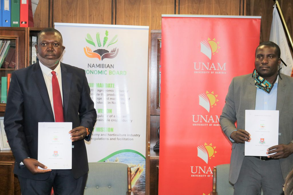 NAB and UNAM sign MoU