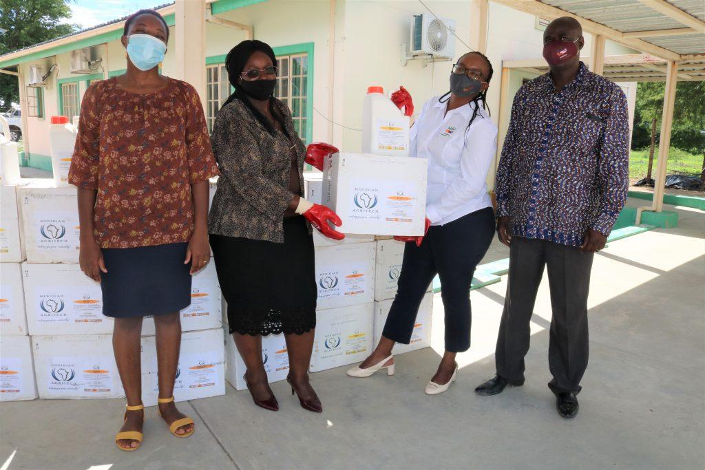 NAB donates 1000 litres of Deltamethrin pesticides